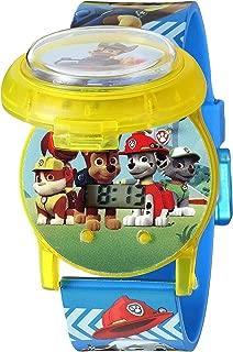 Nickelodeon Kids' PAW4032 Digital Display Quartz Multi-Color Watch