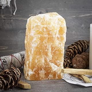 Beverly Oaks Orange Calcite Crystal Lamp - Home Decor Calcite Light - The Nurturing Healer