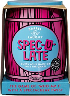 Ridley's | Barrel of Laughs | Spec-U-Late Game | Guess Your Name or Lose The Game!