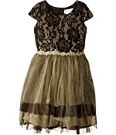 Us Angels - Cap Sleeve Ballerina Dress (Toddler/Little Kids)