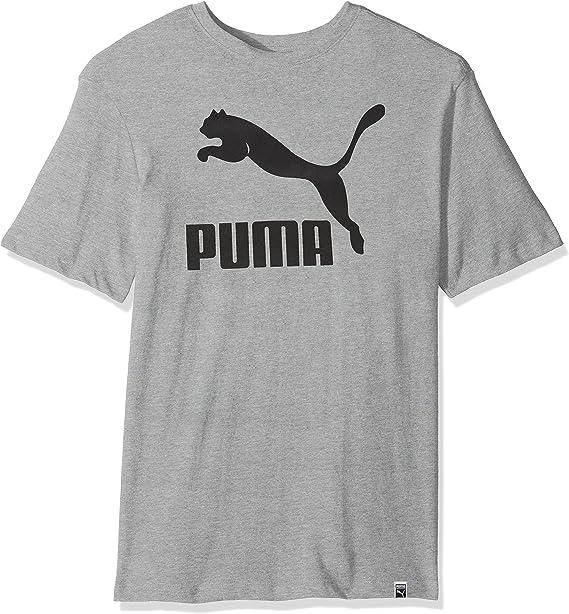 PUMA Men's Archive Tee, Medium Gray Heather, S at Amazon Men's ...