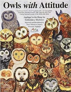 Best machine embroidery owl applique Reviews