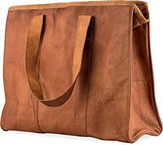 Women's Leather Handmade Shoulder Bag, Big Capacity Tote Handbag