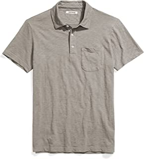 Amazon Brand - Goodthreads Men's Lightweight Slub Polo