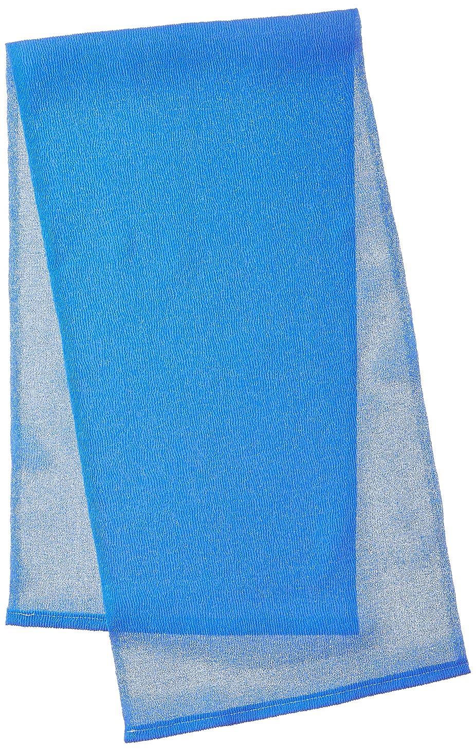 瞑想的好きビンキクロン メンズ用 グッメン オトコのボディタオル ベリーハード スプラッシュブルー