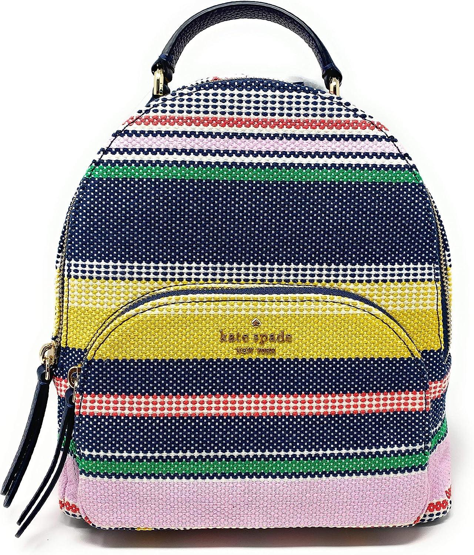 Kate Spade New York Jackson Medium Backpack (Boardwalk Stripe Multi)