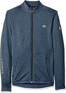 Lacoste Men's Novak Waffle Tech Sweatshirt