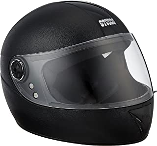 Studds Chrome Elite SUS_CEFFH_BLK Full Face Helmet (Black, XS)