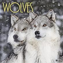 2017 Wolves Wall Calendar