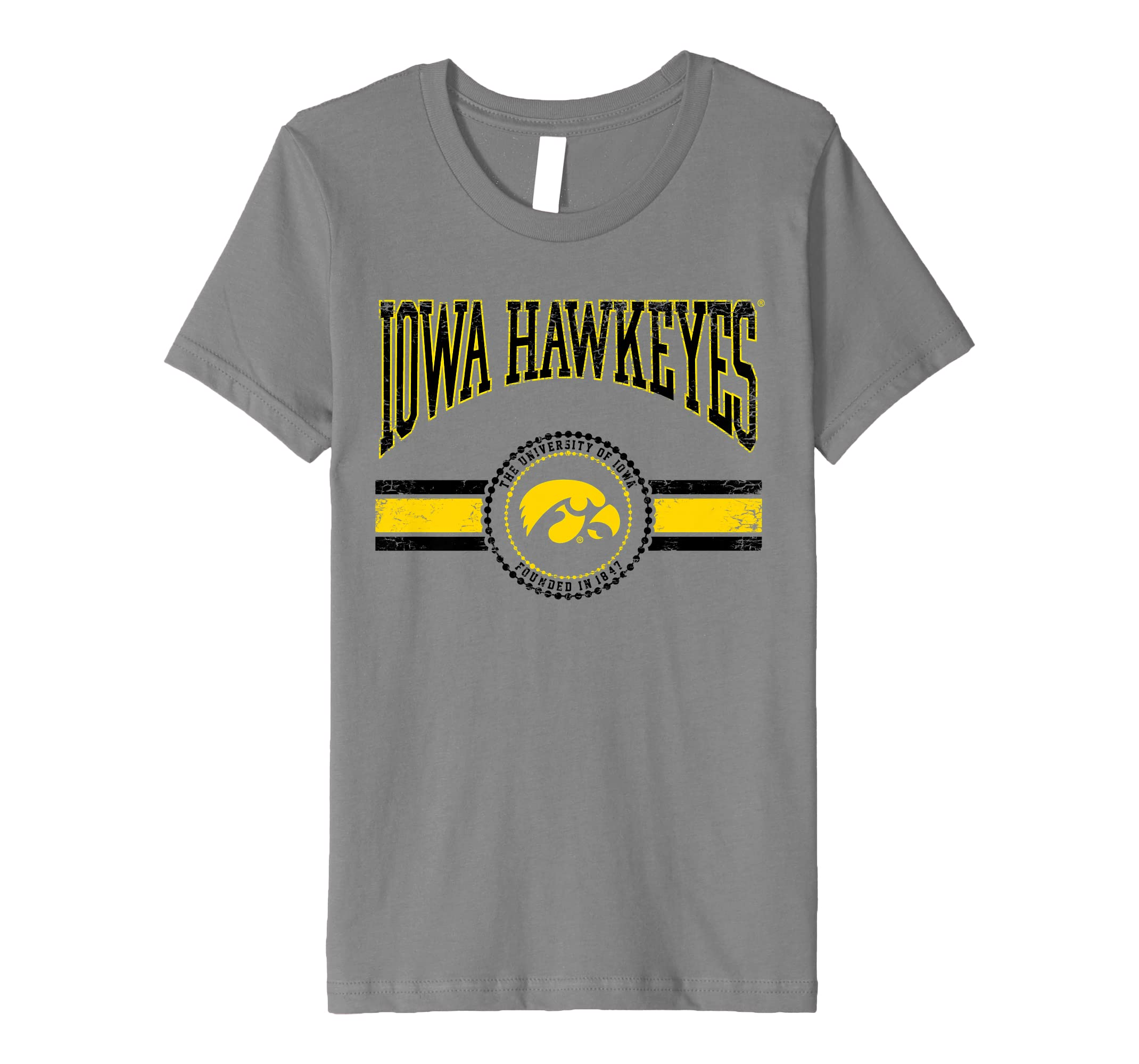 b68004cdf72 University of Iowa Hawkeyes NCAA Women's T-Shirt SC29ui
