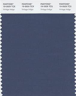 Pantone 19-3929 TCX Smart Color Swatch Card, Vintage Indigo