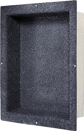 """Dawn NI140903 Stainless Steel Shower Niche, 14"""" x 9"""""""
