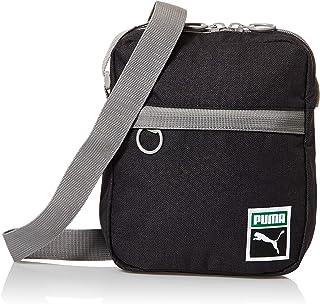 حقيبة طويلة تمر بالجسم مجموعة اوريجينالز بتصميم رترو للرجال من بوما، لون اسود (اسود/ هيثر) - 07743701
