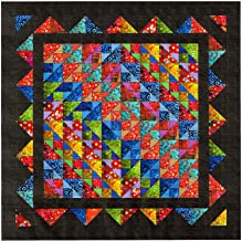 Easy Quilt Kit Brilliant Diamond Batiks/EXPEDITED SHIPPING