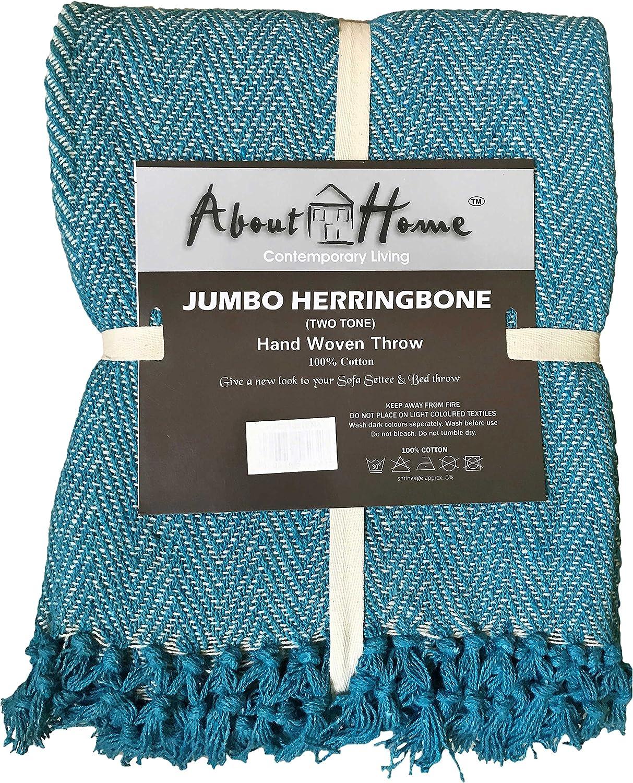 Herringbone cotton It is very popular Popular brand in the world throw 50