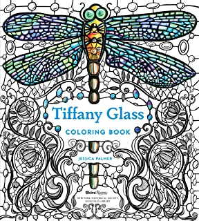 Tiffany Glass Coloring Book