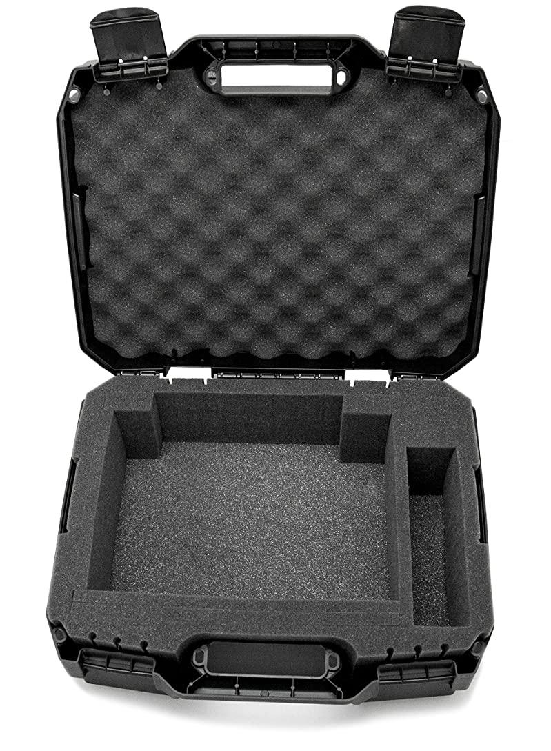 CASEMATIX Projector Travel Case Designed For Viewsonic PA503S / PA503W / PA503X / PG703W / PG703 WXGA XGA SVGA Projectors , HDMI Cable and Remote - Custom Foam Compartment and Hard Shell Protection ea1541600