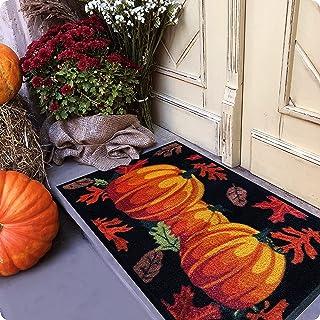 Welcome Mat - Door Mat - Fall Door Mat - Halloween Door Mat - Welcome Mats Outdoor - 30x18 Doormat - Door Mats Outdoor - O...