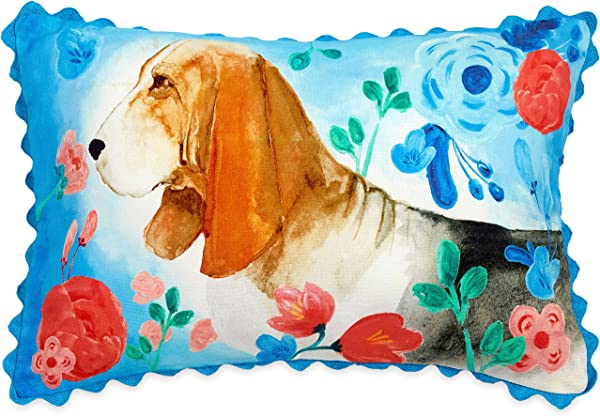 The Pioneer Woman Charlie Dog 12 X 18 Decorative Throw Pillow Toss