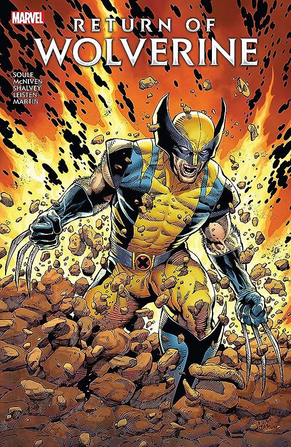 忘れる管理するメイエラReturn of Wolverine (Return Of Wolverine (2018-2019)) (English Edition)