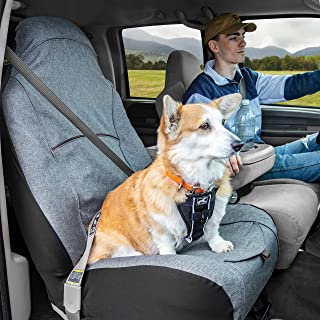 Kurgo Bucket Seat Covers for Dogs | Dog Front Seat Cover | Pet Seat Protector | Car Seat Cover for Pets | Copilot Bucket S...