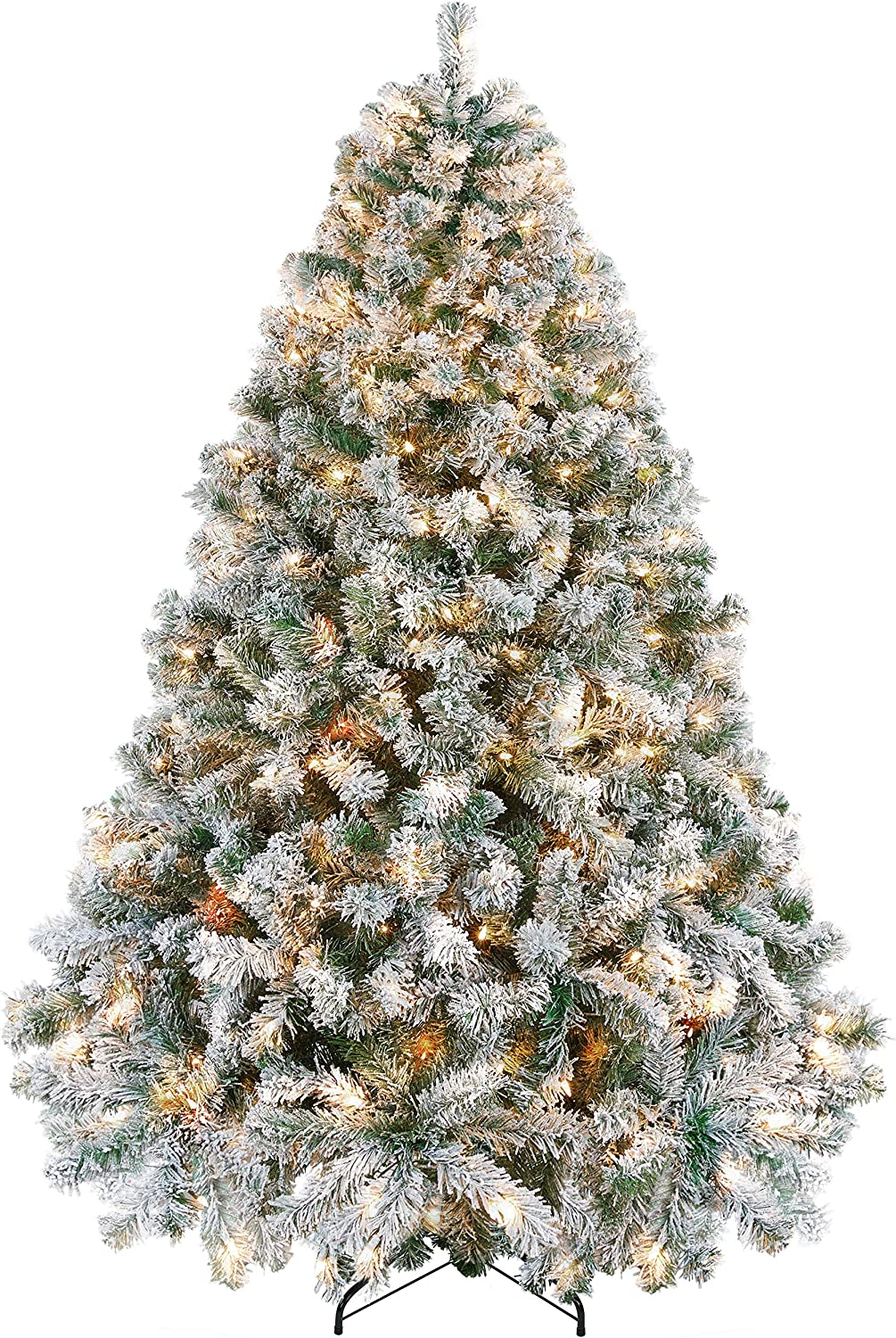 Yaheetech Pre-lit New sales Artificial Christmas Wa half Incandescent Tree with