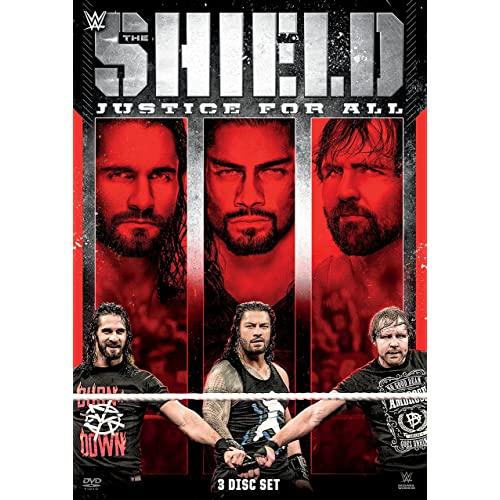 WWE: The Shield: Justice For All (DVD)