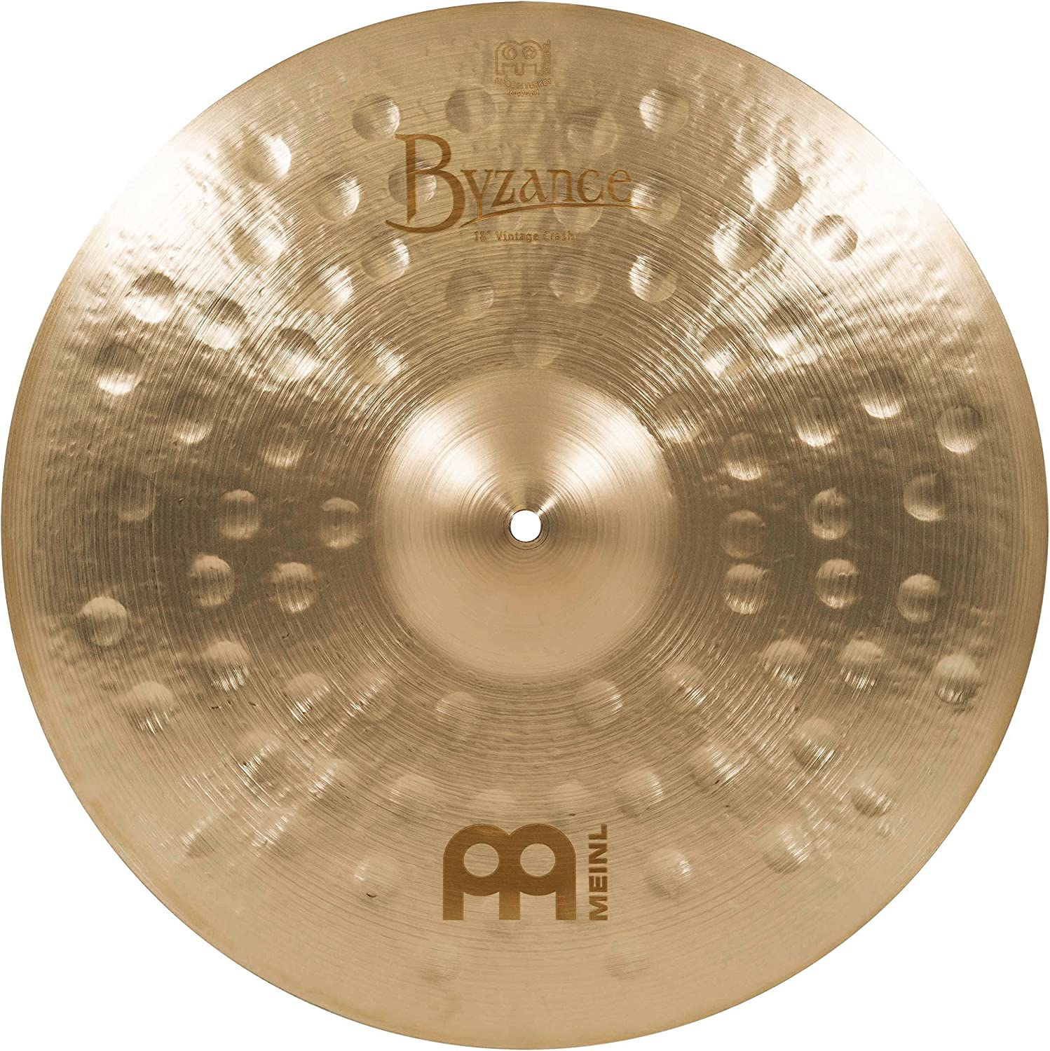 Meinl Cymbals Max 84% OFF B18VC Byzance Ranking TOP12 18-Inch Crash Vintage VIDEO Cymbal