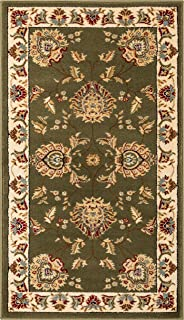 Well Woven Abbasi Green Traditional 2'3