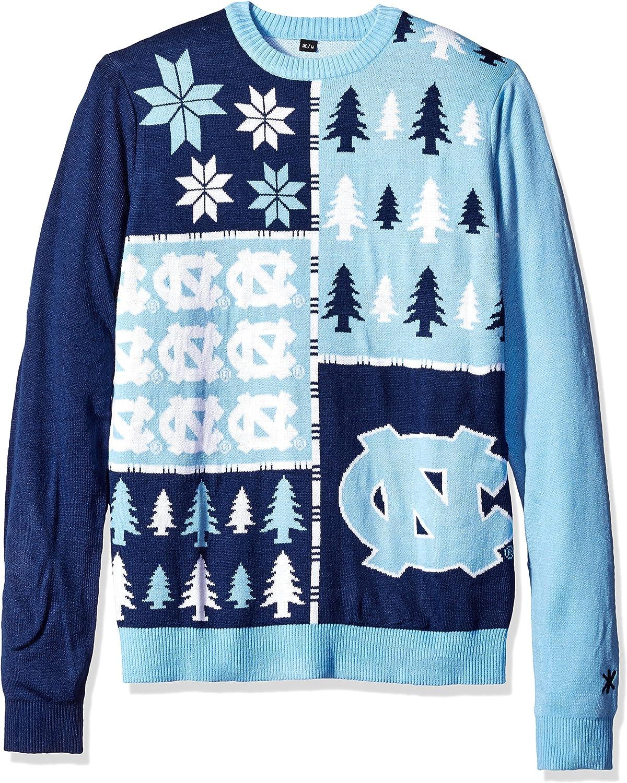 Klew NCAA Busy Block Colorado Springs Max 67% OFF Mall Sweater Large Tar Carolina Heels North