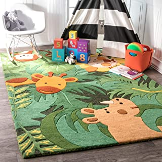 nuLOOM King Of The Jungle Wool Rug, 3' 6