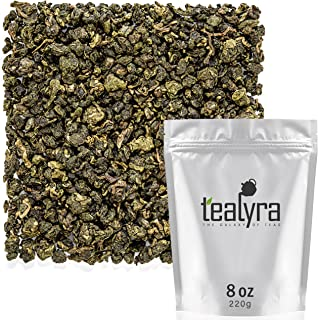 Tealyra - Jin Xuan Milk Supreme Oolong - High Mountain Tainwanese Oolong Loose Leaf Tea - Organically Grown - Naturally Processed - Unique Taste and Aroma - Caffeine Medium - 220g (8-ounce)