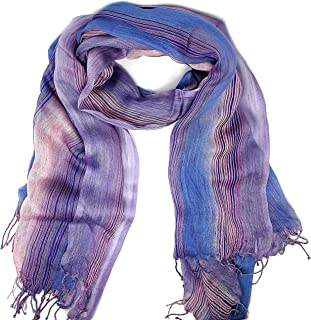 Sponsored Ad - Women Lightweight Colorful Spring Summer Neck Scarf, Shawl and Wrap Collection