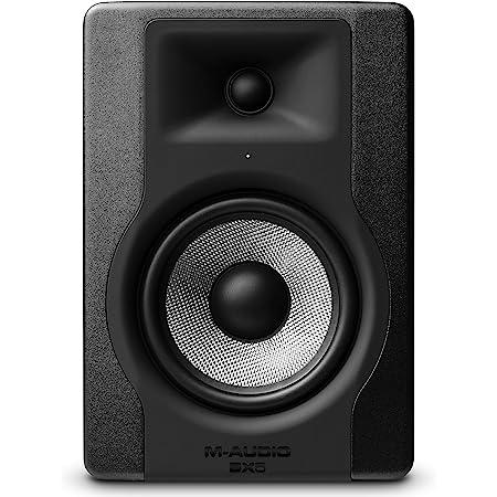 M-Audio - BX5 D3 - Enceinte de Monitoring Studio Professionnel 100 W Actives avec 2 Voies, Woofer 5 Pouces et Acoustic Space Control Intégré - Noir