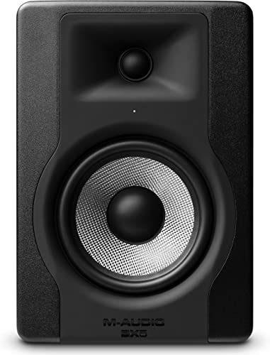 M-Audio - BX5 D3 - Enceinte de Monitoring Studio Professionnel 100 W Actives avec 2 Voies, Woofer 5 Pouces et Acousti...