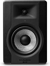 """M-Audio BX5 D3 - Monitor / Altavoz activo de estudio profesional bidireccional, 100 W con woofer 5"""" para producción musical y mezcla de música, con función Acoustic Space Control incorporado - 1 pieza"""