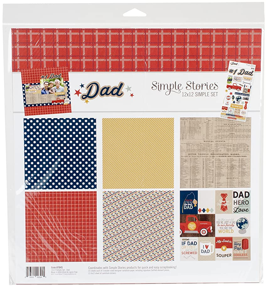 Simple Stories Dad 12x12 Collection Kit