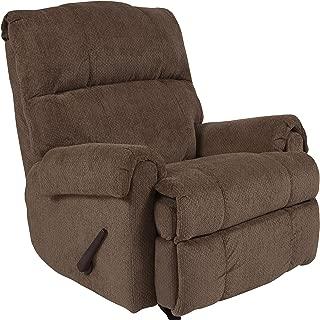 Flash Furniture Contemporary Kelly Bark Super Soft Microfiber Rocker Recliner