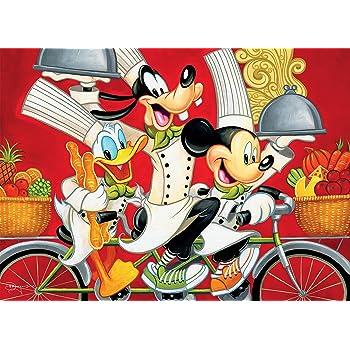 Ceaco Disney Fine Art Wheeling in Flavor Jigsaw Puzzle, 1000 Pieces