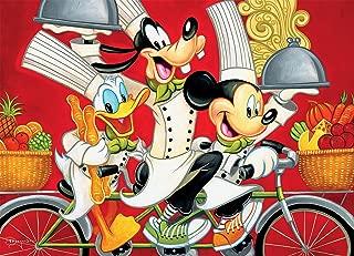 Disney Fine Art Wheeling in Flavor Puzzle - 1000Piece