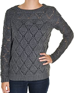 Tommy Hilfiger Womens Long Sleeve Knit Sweater