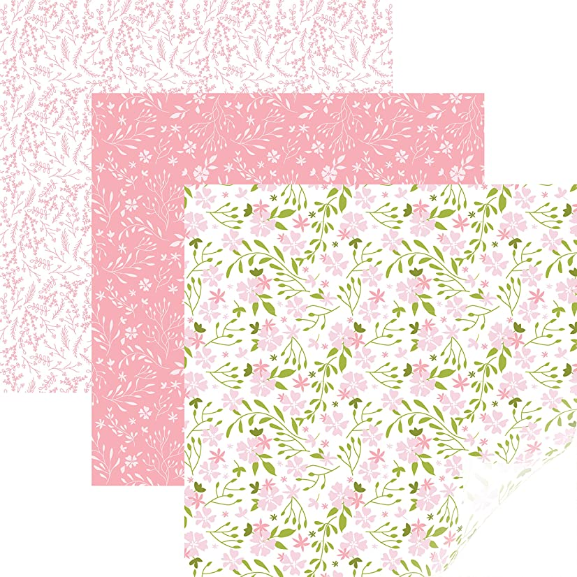Cricut Patterned Iron On, In Bloom Pink