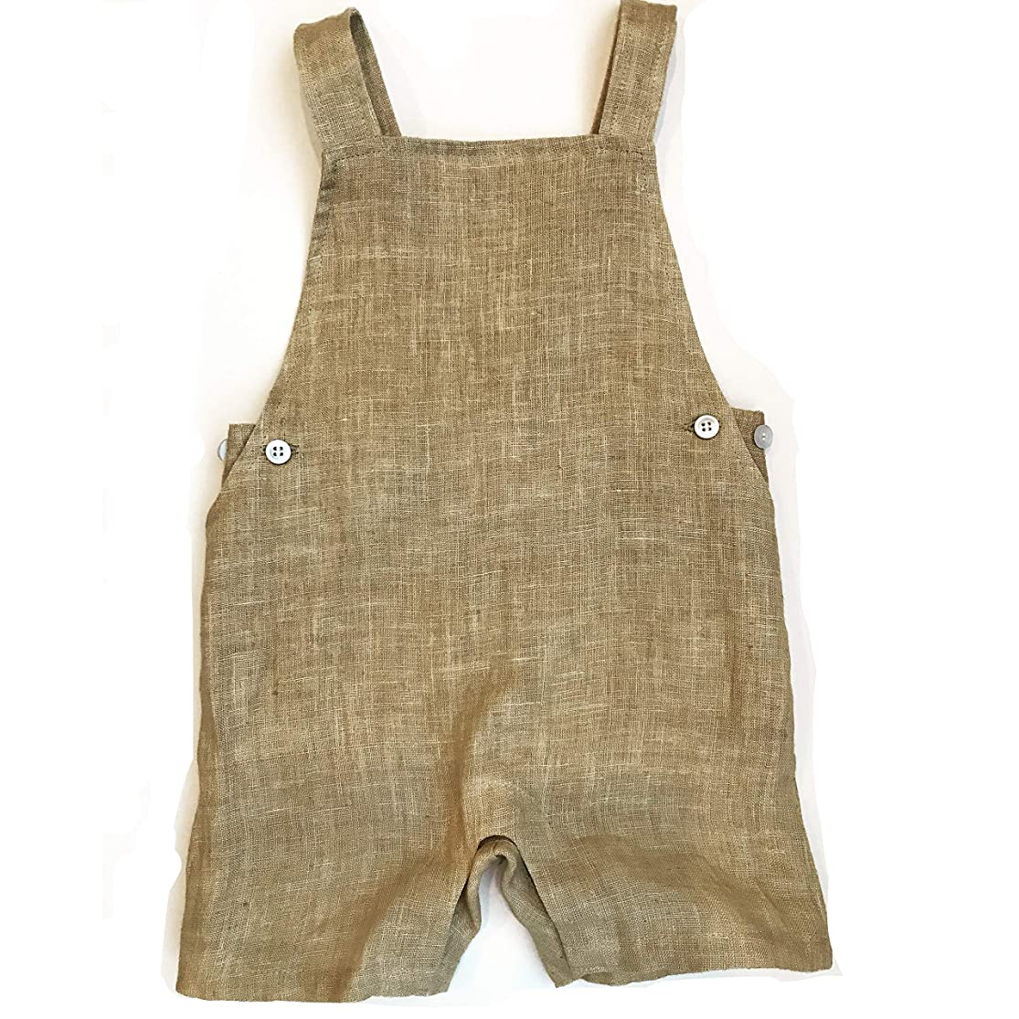 Linen Baby Clothes Jumper, Romper, Overalls, Jumpsuit for Infants and Toddlers Made from eco-Friendly, Beautiful 100% Linen rkyqkzlm6