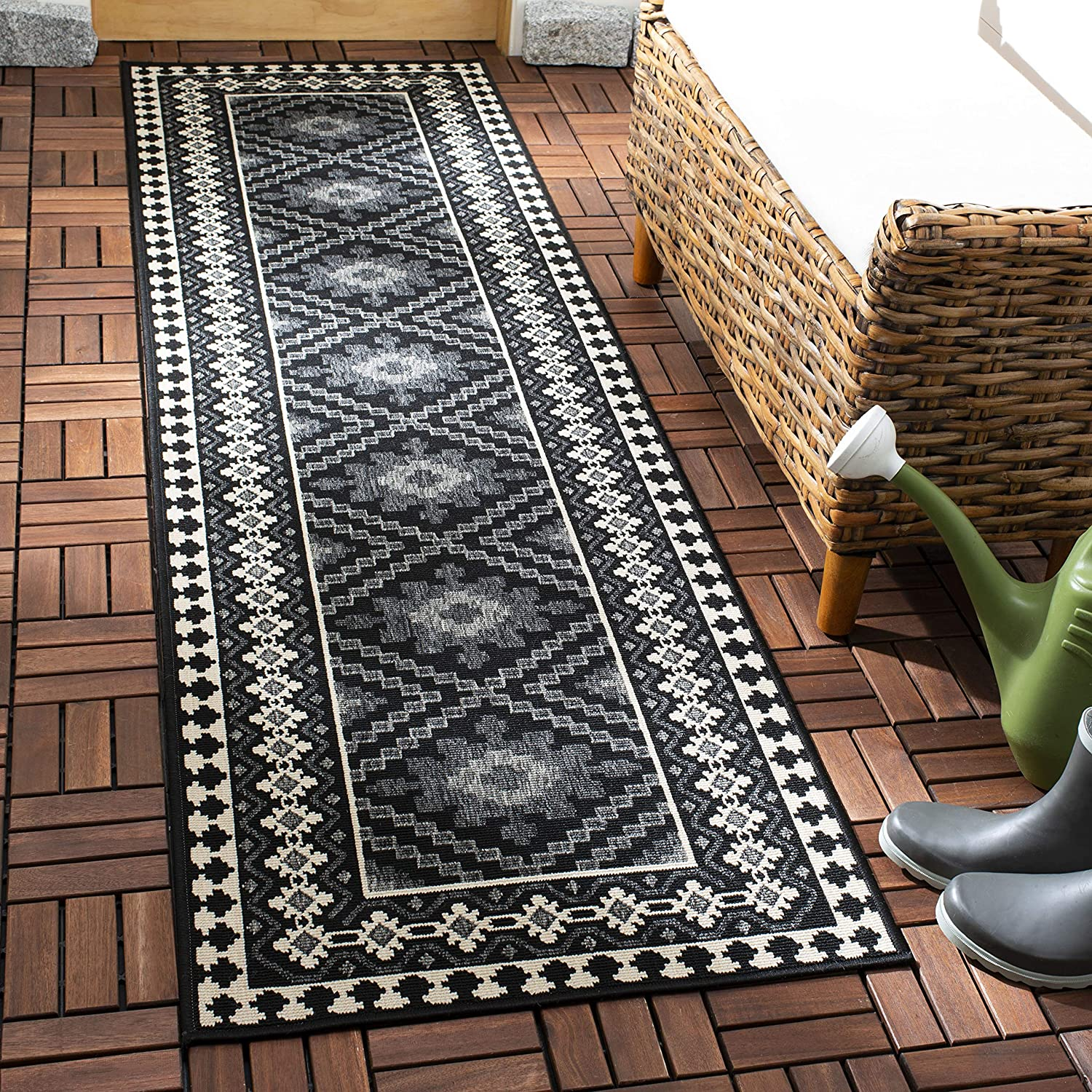 Safavieh Cash special Challenge the lowest price price Veranda Collection VER099 Outdoor Indoor Boho Non-Shed