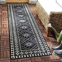 Safavieh Veranda Collection VER099 Black and Creme (2'3