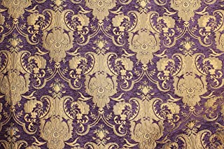 Damask, Chenille,Upholstery,Drapery Fabric, Sold by The Yard 58
