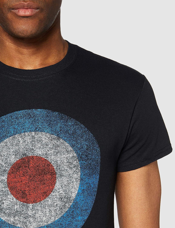 Rocks-off Herren The Who Target Distressed Tee T-Shirt