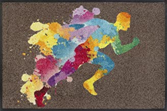 wash+dry Doormat, Polyamide, Colourful, 50x75