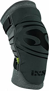IXS Unisex Carve Evo+ Breathable Moisture-Wicking Padded Protective Knee Guard