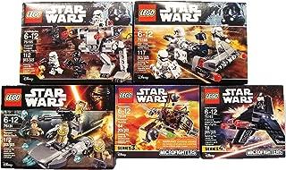 LEGO Star Wars MEGA Bundle Ski Speeder vs. First Order Walker (75195 ) r Plus Resistance Trooper Battle Pack ( 75131 )
